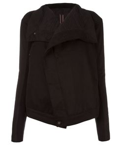 RICK OWENS DRKSHDW   Flapped Neck Jacket Large Cotton/Acrylic/Polyester
