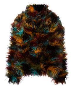 Michel Klein | Faux Fur Jacket 38 Polyester/Acetate/Modal