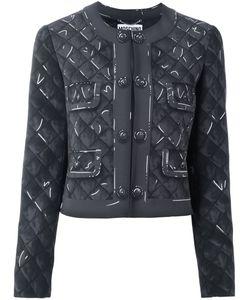 Moschino | Trompe-Lail Print Jacket 44 Polyester/Triacetate