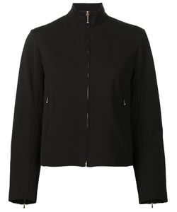 Nina Ricci | Zipped Jacket 40 Silk/Elastodiene/Viscose/Polyimide