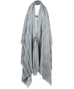 Masnada | Tied Sleeveless Coat 40 Viscose