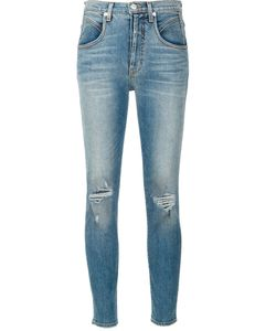 Adaptation | Distressed Skinny Jeans 27 Cotton/Spandex/Elastane