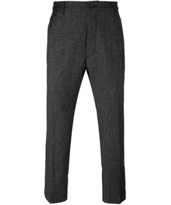 Pence | Front Pleat Trousers 50 Silk/Spandex/Elastane/Virgin Wool