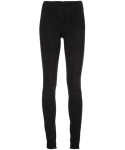 STOULS | Carolyn Leggings Small Cotton/Lamb Skin/Spandex/Elastane/Lyocell