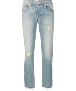 Adaptation | Straight Cropped Jeans 29 Cotton/Spandex/Elastane