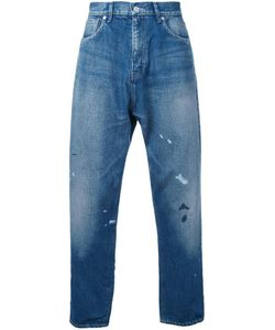 Bedwin & The Heartbreakers | Splattered Tapered Jeans 4