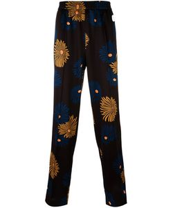 MSGM   Print Trousers 46 Polyester/Spandex/Elastane/Polyamide