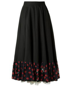 Isabela Capeto | Embroidered Skirt 38 Cotton