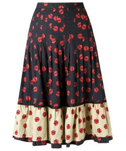 Isabela Capeto | Flared Skirt 40 Cotton/Polyamide