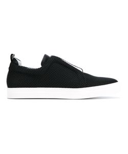 Pierre Hardy | Slider Sneakers 46 Cotton/Calf Leather/Leather/Rubber