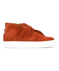 Ports | 1961 Bow Hi-Tops 45 Calf Leather/Leather/Goat Suede/Rubber