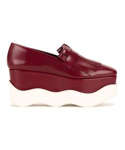 Paloma Barceló | Scalloped Platform Loafers 40 Calf Leather