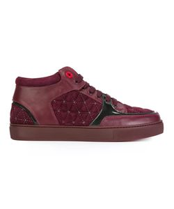 ROYAUMS | Quilted Hi-Top Sneakers 41 Leather/Suede/Rubber