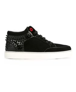 ROYAUMS | Kilian Hi-Top Sneakers 41 Leather/Patent Leather/Suede/Plastic