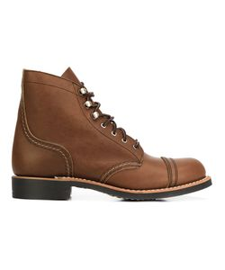 Red Wing Shoes | Lace-Up Boots 6 Leather/Rubber