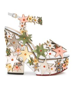 Charlotte Olympia | Supernova Sandals 38 Leather