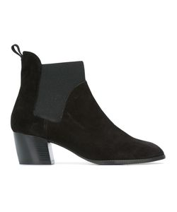 Robert Clergerie | Marty Ankle Boots 41 Rubber/Suede/Leather