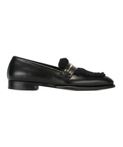 Louis Leeman | Buckled Loafers 42 Leather/Rabbit Fur