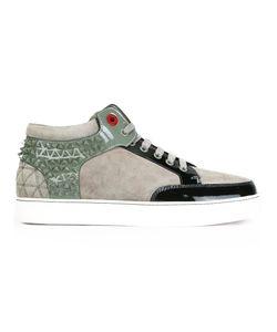 ROYAUMS | Kilian Hi-Top Sneakers 43 Leather/Suede/Metal/Rubber