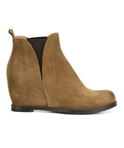 Buttero   Wedge Ankle Boots 40 Leather/Suede/Rubber