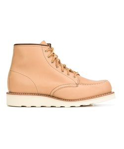 Red Wing Shoes | Lace-Up Boots 8.5 Leather/Rubber