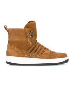 Ports | 1961 Hi-Top Sneakers 43 Leather/Calf Suede/Rubber