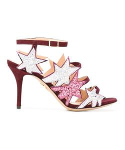 Charlotte Olympia | Twinkle Toes Sandals 39 Leather/Suede/Pvc