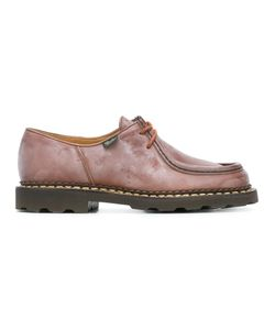 Paraboot | Chunky Lace-Up Shoes 43 Leather/Rubber