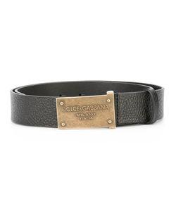 Dolce & Gabbana | Embossed Buckle Belt 95 Calf