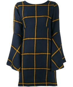 Jour/Né | Checked Knitted Dress 36 Acrylic/Polyester/Wool