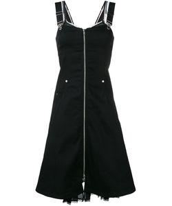 ADAM SELMAN | Doverall Dress 8 Cotton/Polyester/Spandex/Elastane