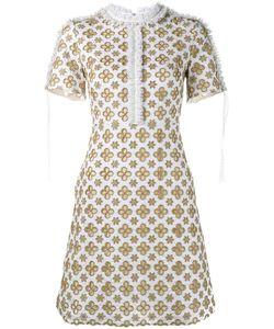 Huishan Zhang   Eve Mini Dress 8 Silk/Cotton/Polyester/Nylon