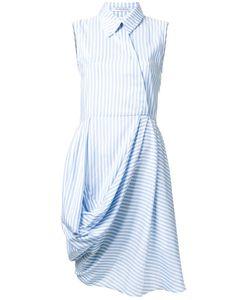 J.W. Anderson | J.W.Anderson Side Draped Shirt Dress 8 Silk