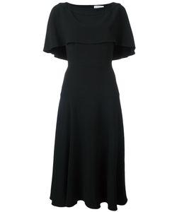 OSMAN | Flared Mid Dress 10 Acetate/Viscose