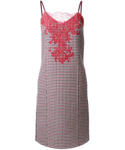 Nina Ricci | Double Face Check Dress 40 Wool