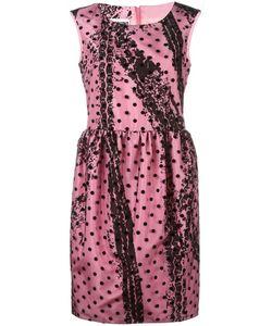 Moschino | Polka Dot Dress 42 Polyamide/Polyester/Acetate/Rayon
