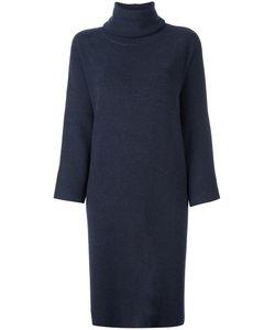 DUSAN | Turtleneck Shift Dress Cashmere/Wool