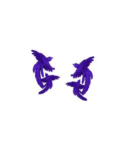Olgafacesrok | Double Bird Earrings