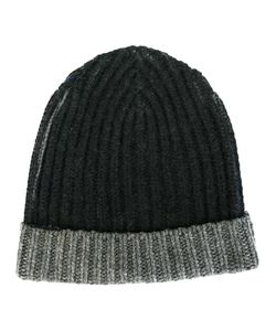 WARM-ME | Two-Tone Knit Beanie Adult Unisex Cashmere