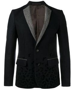 Kolor | Leopard Print Blazer 4 Nylon/Cupro/Wool