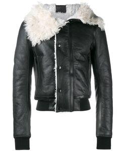 Rick Owens | Draped Collar Jacket 52 Calf Leather/Lamb