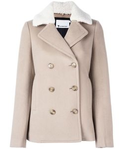 T By Alexander Wang | Fur Collar Peacoat 4