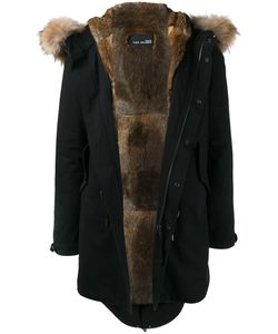 YVES SALOMON HOMME | Fur Trim Parka 50 Rabbit