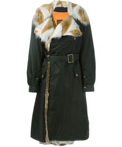 MR & MRS Italy | Long Length Belted Coat 40