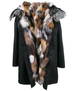Yves Salomon | Fox Fur Lined Parka 34 Fox