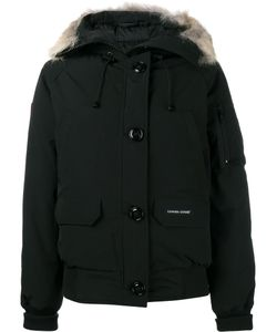 Canada Goose | Zipped Hooded Coat Small Cotton/Feather Down/Nylon/Coyote