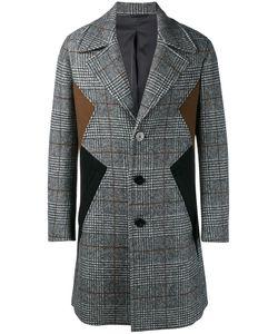 Neil Barrett | Panelled Coat 44 Cotton/Polyamide/Polyester/Virgin Wool