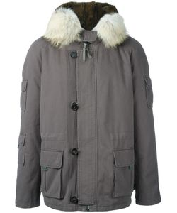 YVES SALOMON HOMME | Lining Parka Coat 50 Cotton/Rabbit