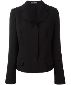Dolce & Gabbana | Fitted Jacket 44 Silk/Nylon/Virgin Wool