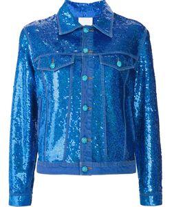 Ashish | Sequin Effect Denim Jacket Small Cotton/Sequin